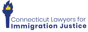 Picture of the Connecticut Lawyers for Immigration Justice Logo