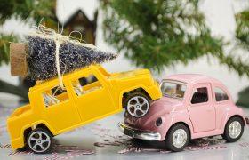 Photo of a Toy Car Crash