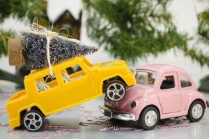 Photo of a Toy Car Crash